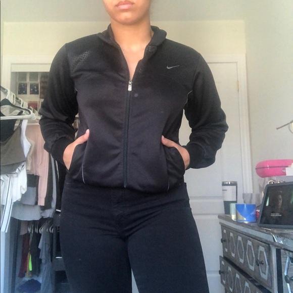 Nike old school athletic jacket